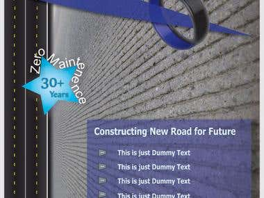 Brochure Design - Road Manufacturer