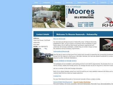 Moores Removals, Storage, Removals Services. Holsworthy
