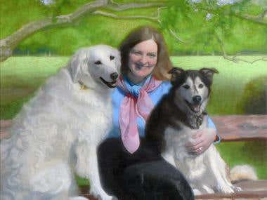 Group Portrait, Animals, Pets