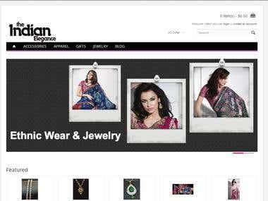 Garment store--(Opencart)