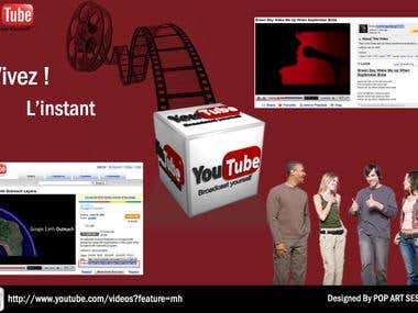 youtube annoucement design