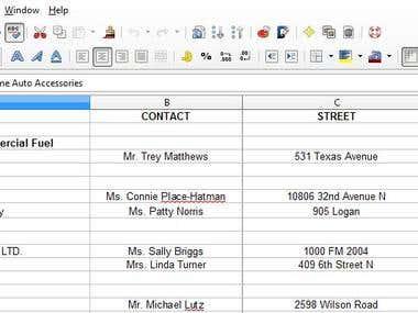 Excel File Sample