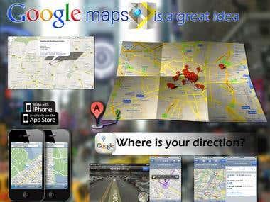 google maps design annoucement