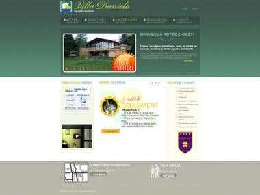 Villa Daniela Web Design