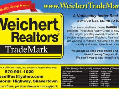 Real Estate Announcement Advertisment
