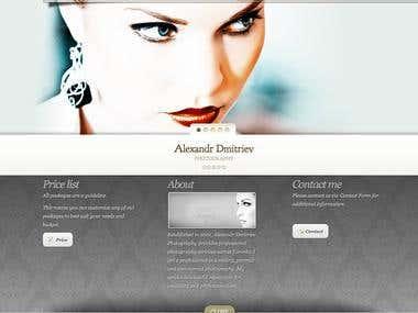 alexandrdmitriev.com - photographer portfolio