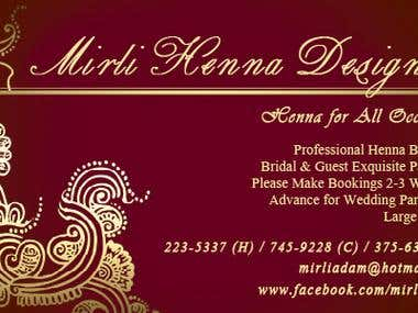 Business Card Design for Customers