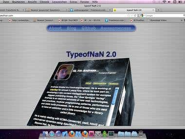 HTML5 + CSS3 Techdemo Site