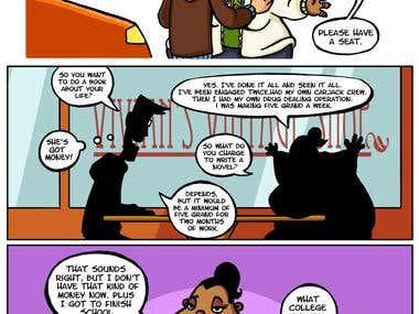 Comic page (Digital hobo)