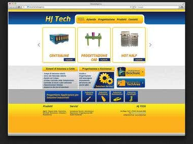 Techical Instrument - Web Design e Admin Panel