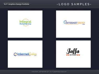 R/F Graphics Design Logo Portfolio 7