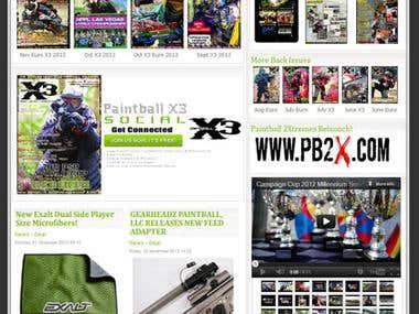 Paintball Portal & News Site