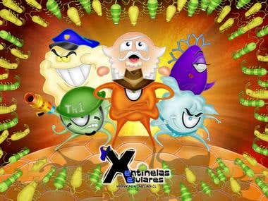 Xentinelas Xelulares: Game for Windows/Mac