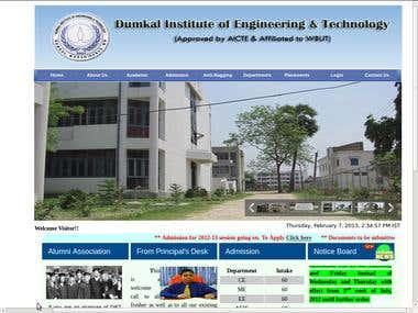 Dumkal Institute of Engg. & Tech.