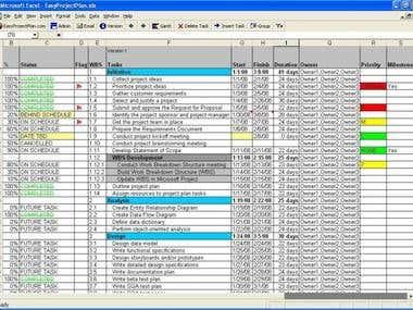 Excel work