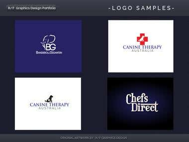 R/F Graphics Design Logo Portfolio 3