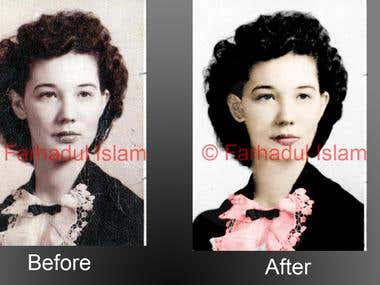 photo colour correction