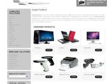 Computer Shop Website