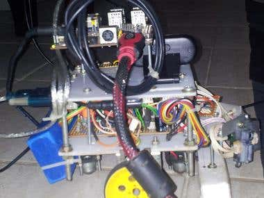 Image Processing Robot