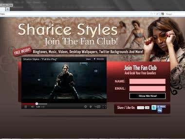 Sharice Styles Fansite