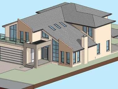3D Home Building Design.