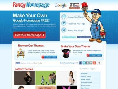 Fancy Homepage