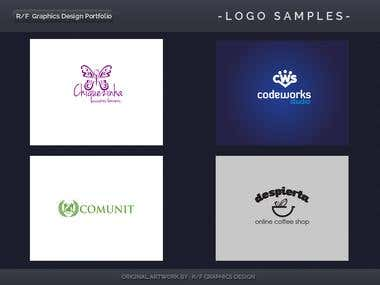 R/F Graphics Design Logo Portfolio 4