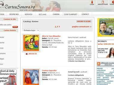 www.carteasonora.ro