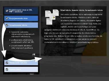 Interactive Menus