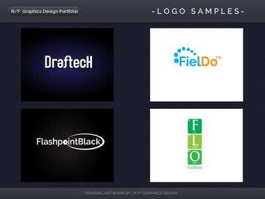 R/F Graphics Design Logo Portfolio 5