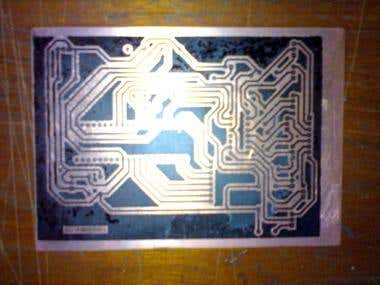 Home made PCB