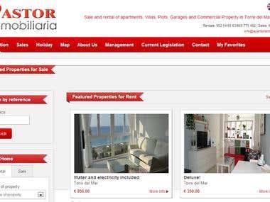 apartamentospastor.es