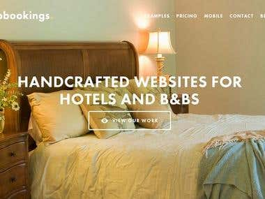 Web Design for UpBookings