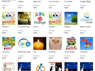 Customer  Apps for Windows Phone 7