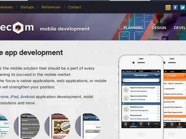 Mobile App Design for Conec Om