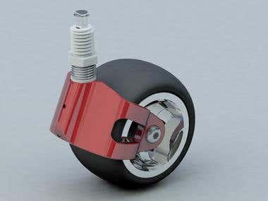 Big Wheel Assembly