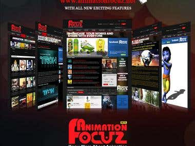 Animation Focuz launch Poster