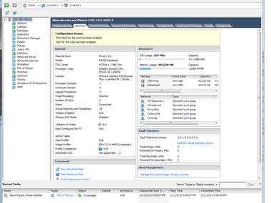 My development VMWare server