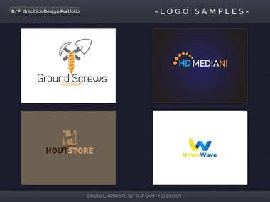 R/F Graphics Design Logo Portfolio 6