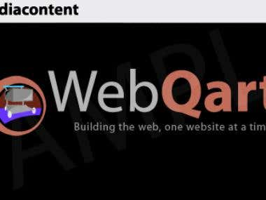 Webqart Logo - Inverted