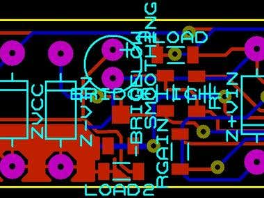 Ongoing electronic project PCB design