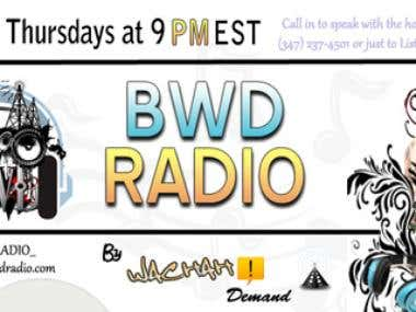 BWD Radio's Custom Header Design