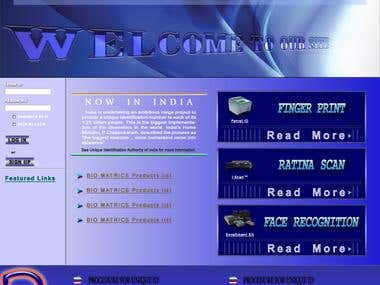 Bio Matrix - Web Page, Brochure and Advertisement Designs