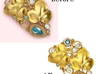 jewellery retouch