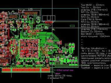 PCI module (Link Opto receive/tranc)