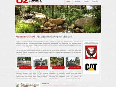 Oz Rock (Wordpress site)