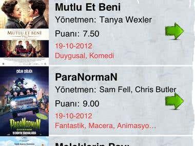Sinematurk Mobile App