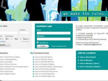 Job Portal[Joomla]