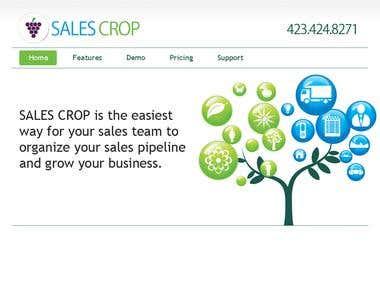 Sales Crop