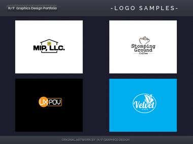 R/F Graphics Design Logo Portfolio 9